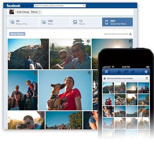 facebook photo sync1 facebookfever Facebook Launches Photo Sync For iOS And Android