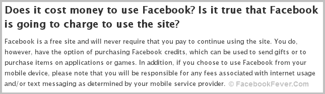 Facebook is going to charge for its services facebookfever Facebook Is Going To Charge For Sending Message To Strangers