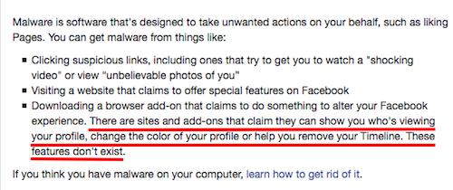 Facebook Spam Apps