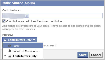 create Facebook shared album facebookfever How To Create Facebook Shared Album?