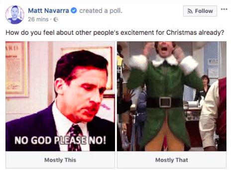 Facebook Poll Option Gif